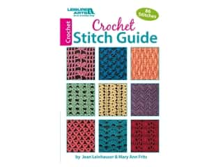Leisure Arts Crochet Stitch Guide Book
