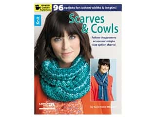 novelties: Leisure Arts Knit Scarves & Cowls Book
