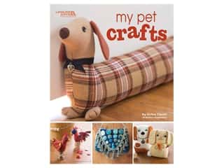 books & patterns: Leisure Arts My Pet Crafts Book
