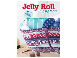 books & patterns: Leisure Arts Jelly Roll Rugs & More Book