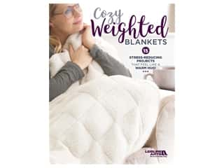 books & patterns: Leisure Arts Cozy Weighted Blankets Book