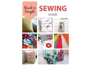 books & patterns: Leisure Arts Quick & Simple Sewing Home Book