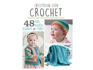 books & patterns: Leisure Arts Everything Baby Crochet Book
