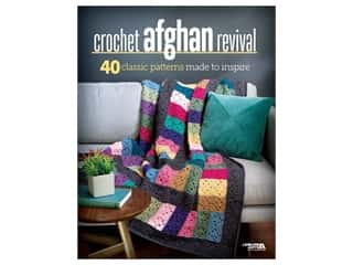 Leisure Arts Crochet Afghan Revival Book