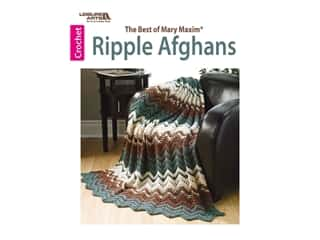 The Best of Mary Maxim Ripple Afghans Crochet Book