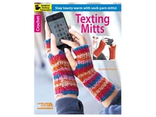 diamond art: Leisure Arts Texting Mitts Book