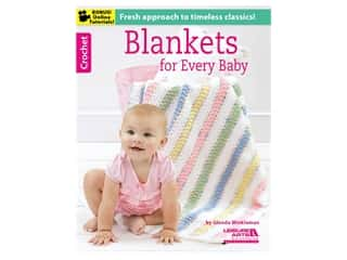 books & patterns: Leisure Arts Blankets For Every Baby Book