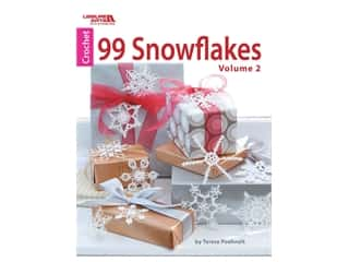 books & patterns: Leisure Arts 99 Snowflakes Volume 2 Crochet Book