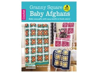 books & patterns: Leisure Arts Granny Square Baby Afghans Crochet Book