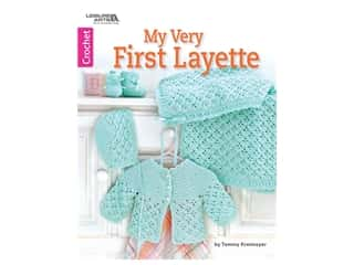 books & patterns: Leisure Arts My Very First Layette Crochet Book