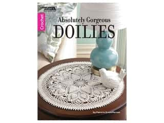 Leisure Arts Absolutely Gorgeous Doilies Crochet Book