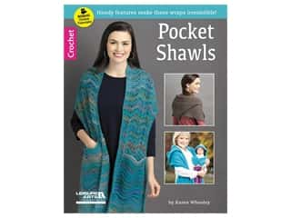Leisure Arts Pocket Shawls Crochet Book