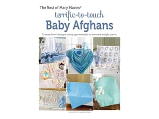 books & patterns: Leisure Arts Terrific To Touch Baby Afghans Crochet Book