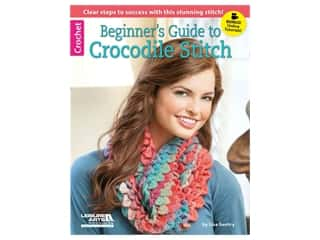 Beginner's Guide to Crocodile Stitch Crochet Book