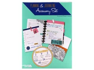 craft & hobbies: Leisure Arts Planning & Journaling Accessory Set