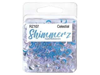 craft & hobbies: Buttons Galore Embellishments Shimmerz Celestial