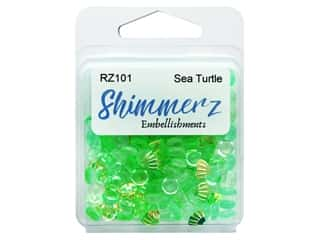 craft & hobbies: Buttons Galore Embellishments Shimmerz Sea Turtle