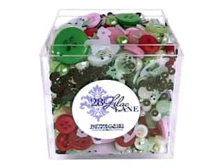 Buttons Galore 28 Lilac Lane Shaker Mix Baby's 1st Christmas