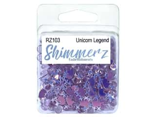 craft & hobbies: Buttons Galore Shimmerz - Unicorn Legend