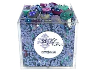 craft & hobbies: Buttons Galore 28 Lilac Lane Shaker Mix Midwinter Night