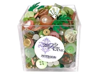 craft & hobbies: Buttons Galore 28 Lilac Lane Shaker Mix Bahama Breeze