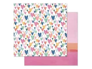 scrapbooking & paper crafts: American Crafts 12 x 12 in. Paper Dear Lizzy She's Magic Kind Heart (25 pieces)
