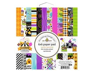 scrapbooking & paper crafts: Doodlebug 6 x 6 in. Paper Pad Candy Carnival