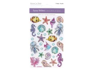 scrapbooking & paper crafts: Multicraft Epoxy Sticker Under The Sea