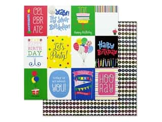 candle color: Photo Play Confetti Collection Paper 12 in. x 12 in. Celebrate (25 pieces)