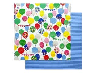 scrapbooking & paper crafts: Photo Play Confetti Collection Paper 12 in. x 12 in. Hooray (25 pieces)