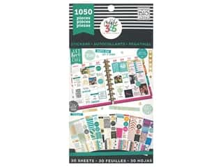 scrapbooking & paper crafts: Me&My Big Ideas Happy Planner Sticker Value Pack This Colorful Life