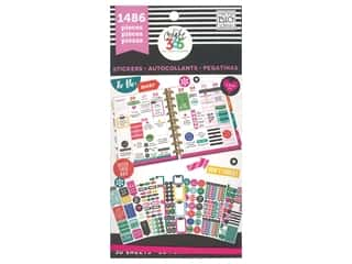scrapbooking & paper crafts: Me&My Big Ideas Happy Planner Sticker Value Pack Everyday Plans
