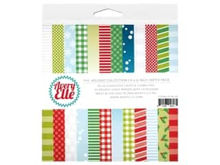 scrapbooking & paper crafts: Avery Elle Paper Pad 6 in. x 6 in. The Holiday Collection