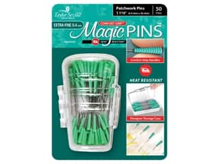 Taylor Seville Magic Pins 1 7/16 in. Extra Fine Patchwork 50 pc