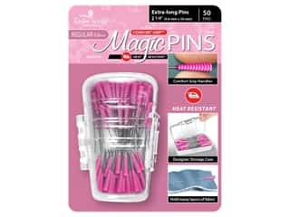 Taylor Seville Magic Pins 2 1/4 in. Regular Extra Long 50 pc