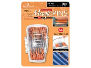 Taylor Seville Magic Pins 1 7/16 in. Fine Silk 100 pc