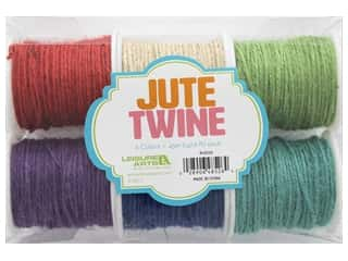 craft & hobbies: Leisure Arts Jute Cord 6 pc