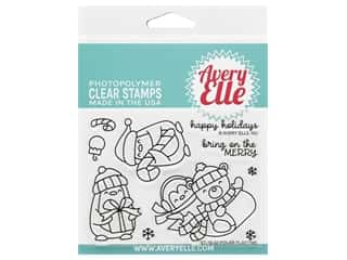 Avery Elle Clear Stamp Polar Playtime