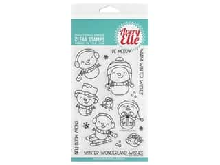 Avery Elle Clear Stamp Snow Fun