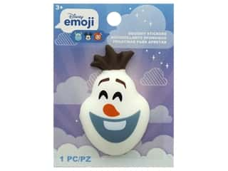 scrapbooking & paper crafts: Disney Emoji Squishy Sticker Olaf