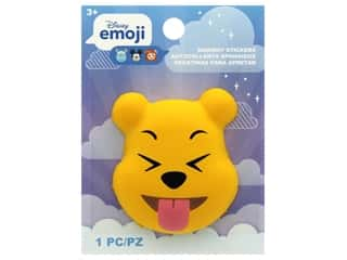 Disney Emoji Squishy Sticker Pooh