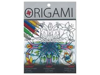 scrapbooking & paper crafts: Yasutomo Origami Paper 5.88 in. Color & Fold 6 Design 24 pc