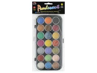 Yasutomo Niji Watercolor Set Pearlescent Pan 21 pc