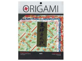 scrapbooking & paper crafts: Yasutomo Origami Paper 5.88 in. Authentic Yuzen Assorted 12 pc