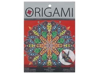 craft & hobbies: Yasutomo Origami Paper 5.88 in. Artistic Kaleidoscope 24 pc