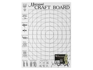 craft & hobbies: Midwest Design Macrame Craft Board 16 in. x 12 in. x .5 in.
