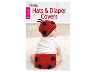 books & patterns: Leisure Arts Hats & Diaper Covers Crochet Book