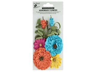 craft & hobbies: Little Birdie Handmade Flowers Elsie 10 pc. Vivid Palette
