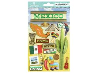 scrapbooking & paper crafts: Paper House Sticker 3D Destinations Mexico