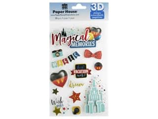 scrapbooking & paper crafts: Paper House Sticker 3D Magical Memories
